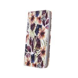 Puzdro Trendy pre LG K50/Q60 jesenné kvety.