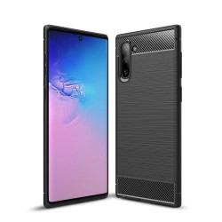 Kryt Carbon pre Samsung Galaxy Note 10 čierny.
