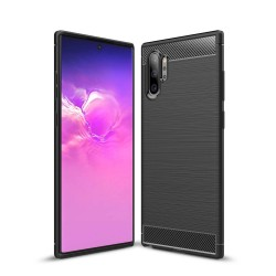 Kryt Carbon pre Samsung N975 Galaxy Note 10 Plus čierny.