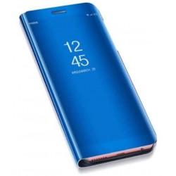 Puzdro Clear View pre Samsung A405F Galaxy A40 modré.