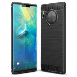 Kryt Carbon pre Huawei Mate 30 Pro čierny.