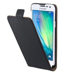 Puzdro Flip Vertical pre Xiaomi Mi A3 čierne.