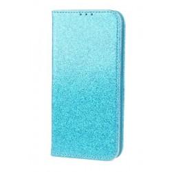 Puzdro Glitter pre Xiaomi Redmi Note 5 modré.