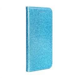 Puzdro Glitter pre Motorola Moto G6 modré.