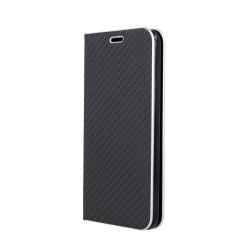 Puzdro Carbon s rámom pre Samsung Galaxy A20/A30 čierne.