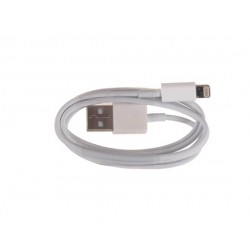 KABEL PC IPHONE 5/6 biely