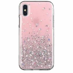 Kryt Glitter pre Xiaomi Redmi Note 8 Pro ružový.