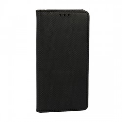 Puzdro Smart Magnet pre Motorola Moto E6 čierne.