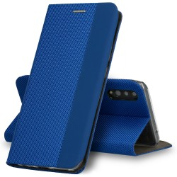 Puzdro Sensitive pre Huawei P Smart Pro 2019 modré.