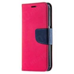Puzdro Fancy pre Xiaomi Redmi 9 ružovo-modré.