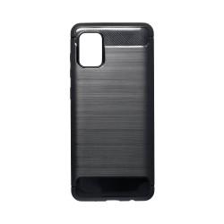 Kryt Carbon pre Samsung A315 Galaxy A31 čierny.