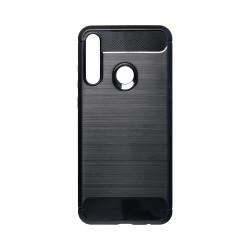 Kryt Carbon pre Huawei Y6p čierny.