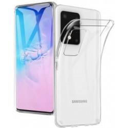 Kryt Perfekt 2mm pre Samsung Galaxy S20 Plus priehľadný.