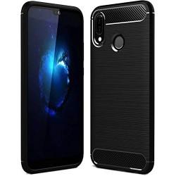 Kryt Carbon pre Xiaomi Redmi Note 7/ Note 7Pro čierny.