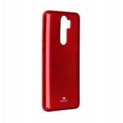 Kryt Mercury Jelly pre Xiaomi Redmi Note 8 Pro červený.