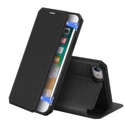 Puzdro Dux Ducis Skin X pre iPhone SE (2020)/iPhone 7/8 čierne.
