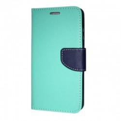 Puzdro Fancy pre Samsung A217 Galaxy A21s mätovo-modré.