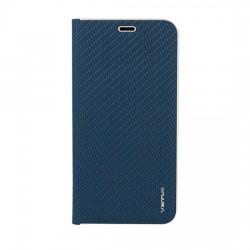 "Puzdro Vennus Carbon s rámom pre iPhone 12 Pro (6.1"") modré."