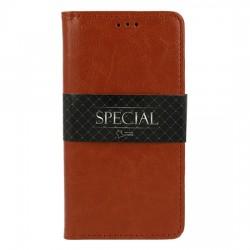 "Puzdro Special pre iPhone 12 Pro (6.1"") hnedé."