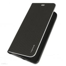 Puzdro Vennus Carbon s rámom pre iPhone SE (2020)/iPhone 7/8 čierne.