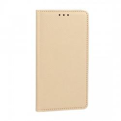 Puzdro Smart Magnet Motorola Moto E5 Plus zlaté.