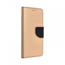 Puzdro Fancy pre Samsung Galaxy S20 FE zlato-čierne.