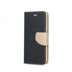 Puzdro Fancy pre Samsung Galaxy S20 FE čierno-zlate.