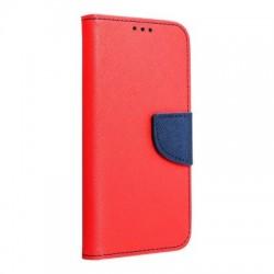 Knižkové puzdro Fancy pre Huawei Y6 (2018) červeno-modré.