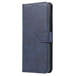 Puzdro Magnet Book pre Samsung Galaxy S21 Ultra modré.
