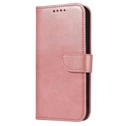 Puzdro Magnet Book pre Samsung Galaxy S21 Ultra ružové.
