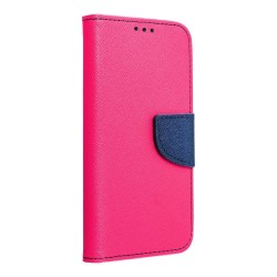 Puzdro Fancy pre Xiaomi Redmi Note 9T ružovo-modré.
