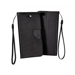 Puzdro Kabura Telone Fancy pre Nicrosoft Lumia 950XL čierne