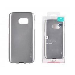 Kryt Mercury i-Jelly Metal case pre Samsung G930 Galaxy S7 šedý