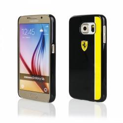 Kryt FERRARI hardcase Samsung G920 S6 (FEBKSHCS6BKY)