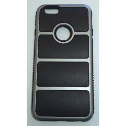 Kryt 4ok by Blautel Chrome Iron Cover pre Iphone 6 black/silver