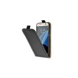 Puzdro Flip Vertical Flexi Slim pre Motorola Moto G5 čierne.