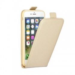 Puzdro kapsa s vertikálnym zapínaním Pocket/Flexi slim pre Huawei P 9 (Eva-L09) zlaté