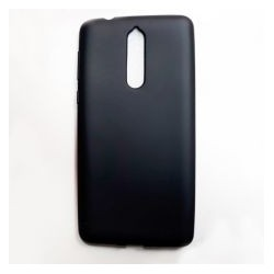 Kryt Candy pre Nokia 8 čierny.