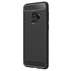 Kryt Carbon pre Samsung G960 Galaxy S9 čierny.
