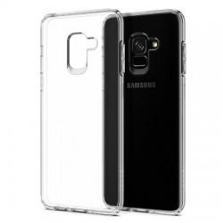 Kryt tenký 0,3mm pre Samsung A730F Galaxy A7 (2018)/A8 Plus (2018) priehľadný.