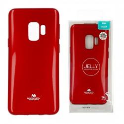 Zadný kryt Mercury Jelly pre Samsung G960 Galaxy S9 červený.