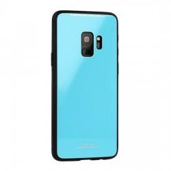 Kryt Glass pre Samsung G960 Galaxy S9 modrý .