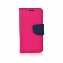 Knižkové puzdro Fancy pre Huawei Y6 (2018) ružovo-modré.