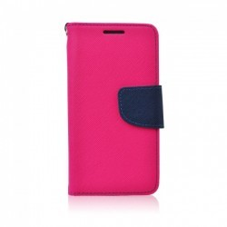 Knižkové puzdro Fancy pre Samsung J600 Galaxy J6 2018 ružovo-modré.