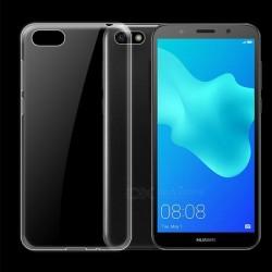 Zadný kryt tenký 0,3 mm pre Huawei Y5 (2018) priehľadný.