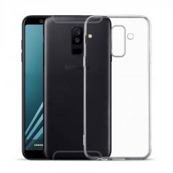 Kryt tenký 0,3mm pre Samsung A605 Galaxy A6 Plus (2018) priehľadný.