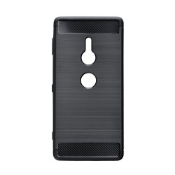 Kryt Carbon pre Sony Xperia XZ2 čierny.