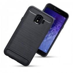 Kryt Carbon pre Samsung J400F Galay J4 (2018) čierny.