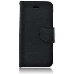 Knižkové puzdro Fancy pre Huawei P SMART Plus čierne.