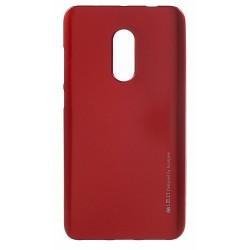 Kryt i-Jelly Mercury pre Xiaomi Redmi Note 5/Redmi 5 Plus červený.